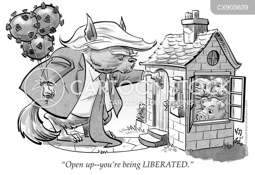 liberated cartoon