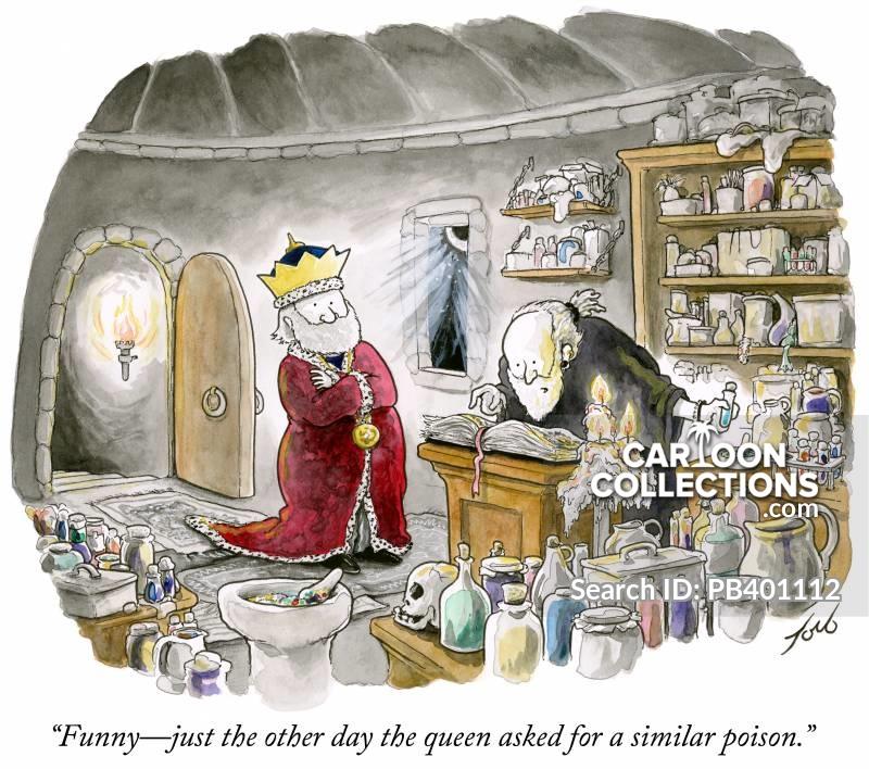 poisoning cartoon