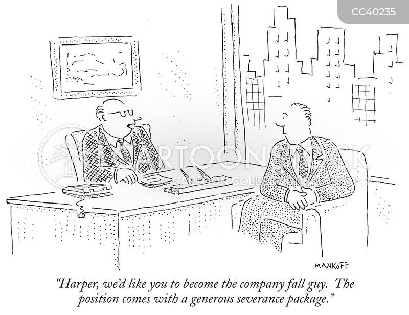 company fall guy cartoon