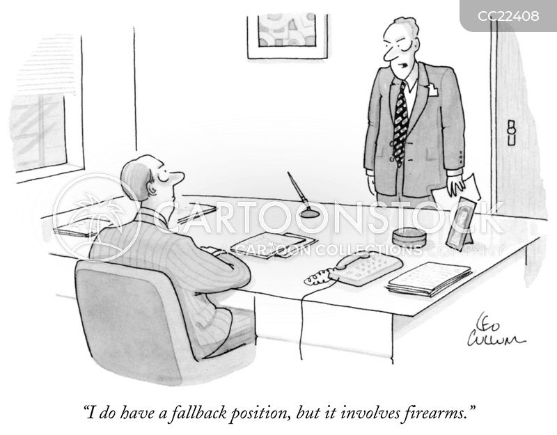 firearm cartoon