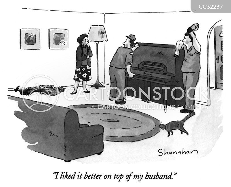 spousal disputes cartoon