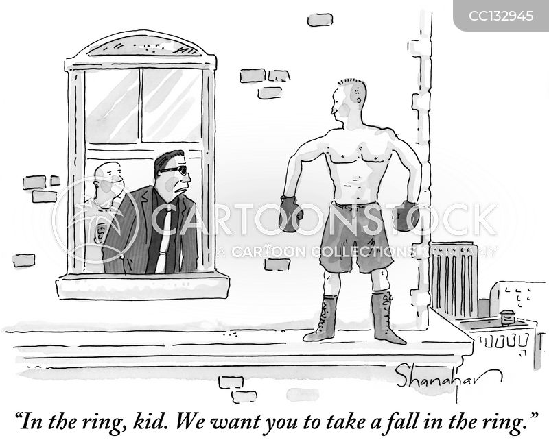 Prizefighters cartoon