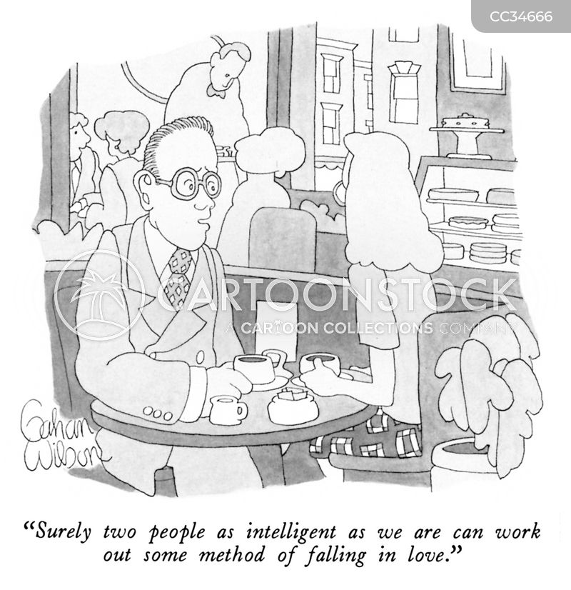 geeky cartoon