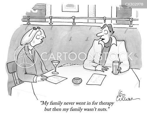 in laws cartoon
