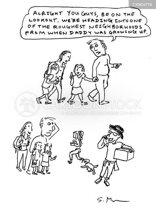 rough neighbourhood cartoon