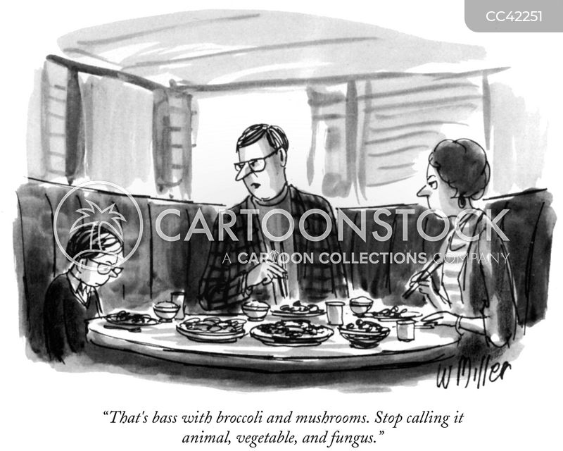 Meal cartoon
