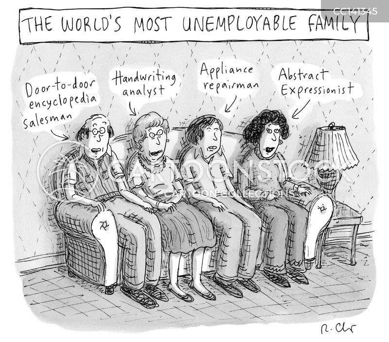unemployable cartoon