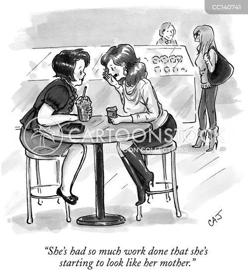 plastic surgeon cartoon