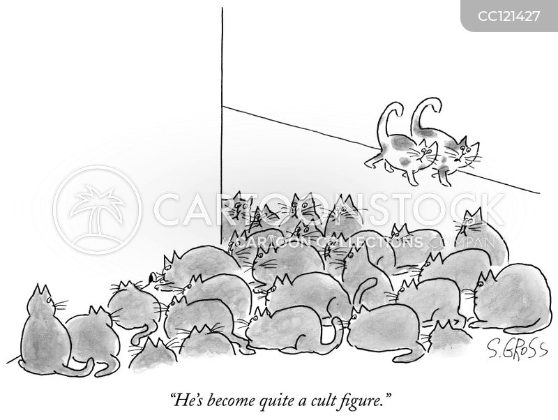 crowding cartoon