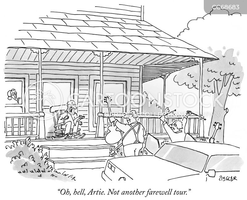 retirements cartoon