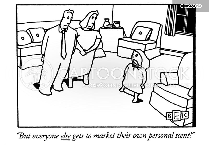 Young Entrepreneur cartoon