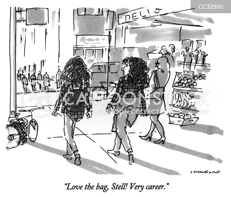 Purses cartoon