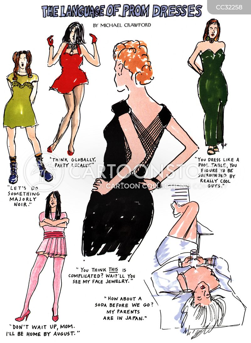 ladies cartoon