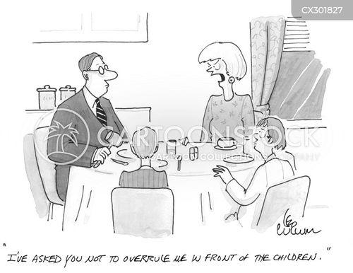 dispute cartoon