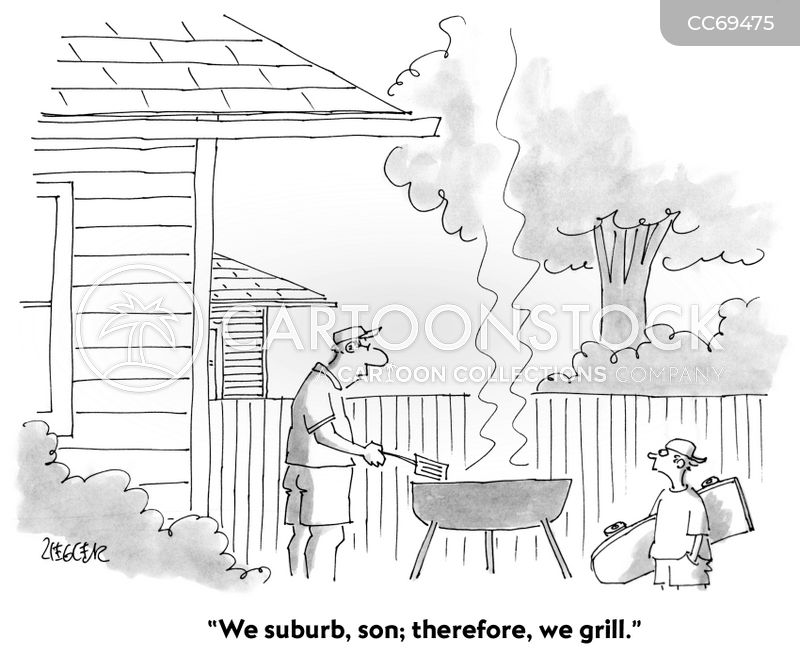 barbeques cartoon