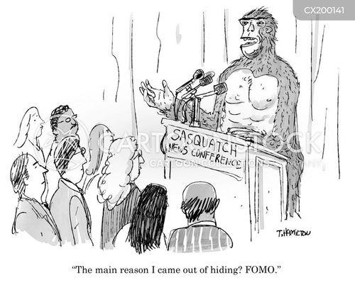 media releases cartoon