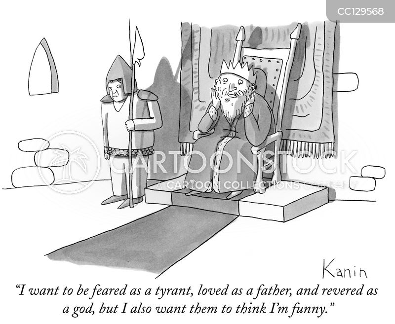 oversensitive cartoon