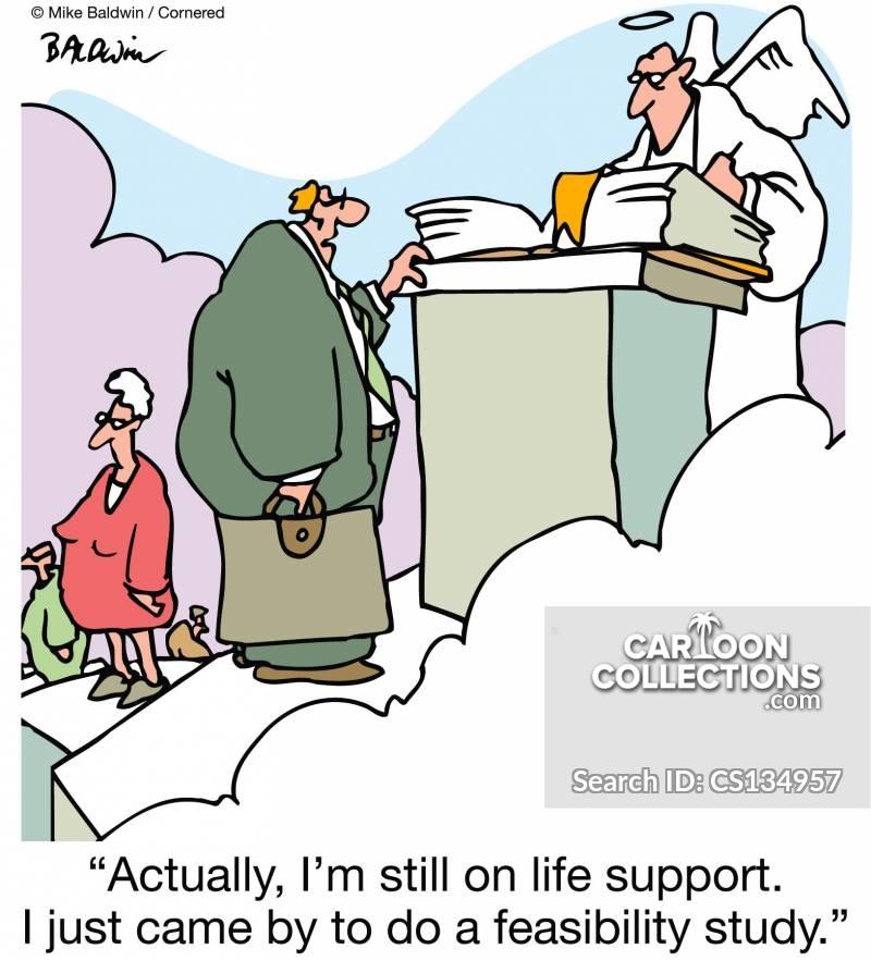 intenstive care cartoon