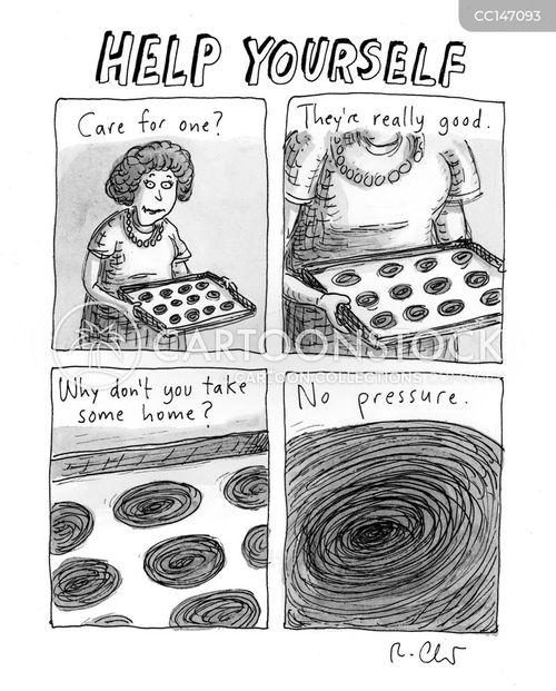feeder cartoon