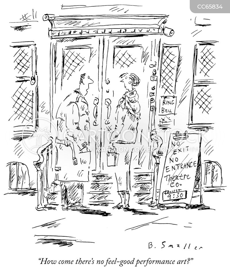 theaters cartoon