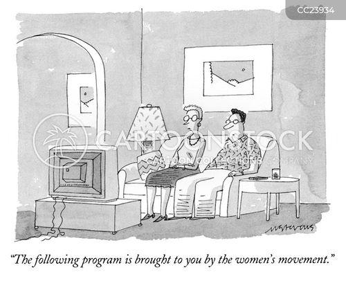 gender debates cartoon