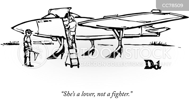 lover no a fighter cartoon