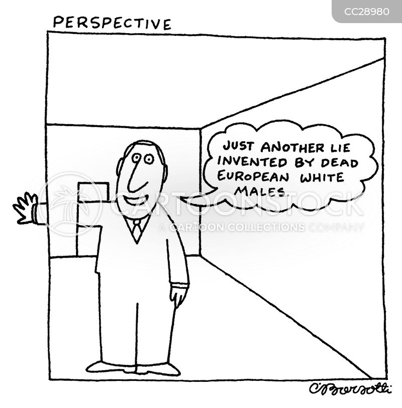 perspective drawings cartoon