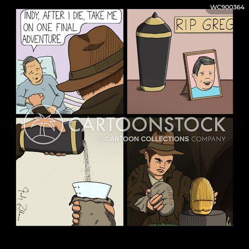 urns cartoon