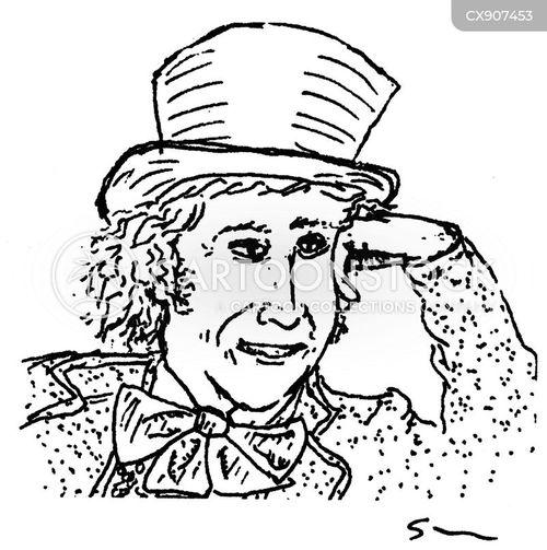 actor cartoon