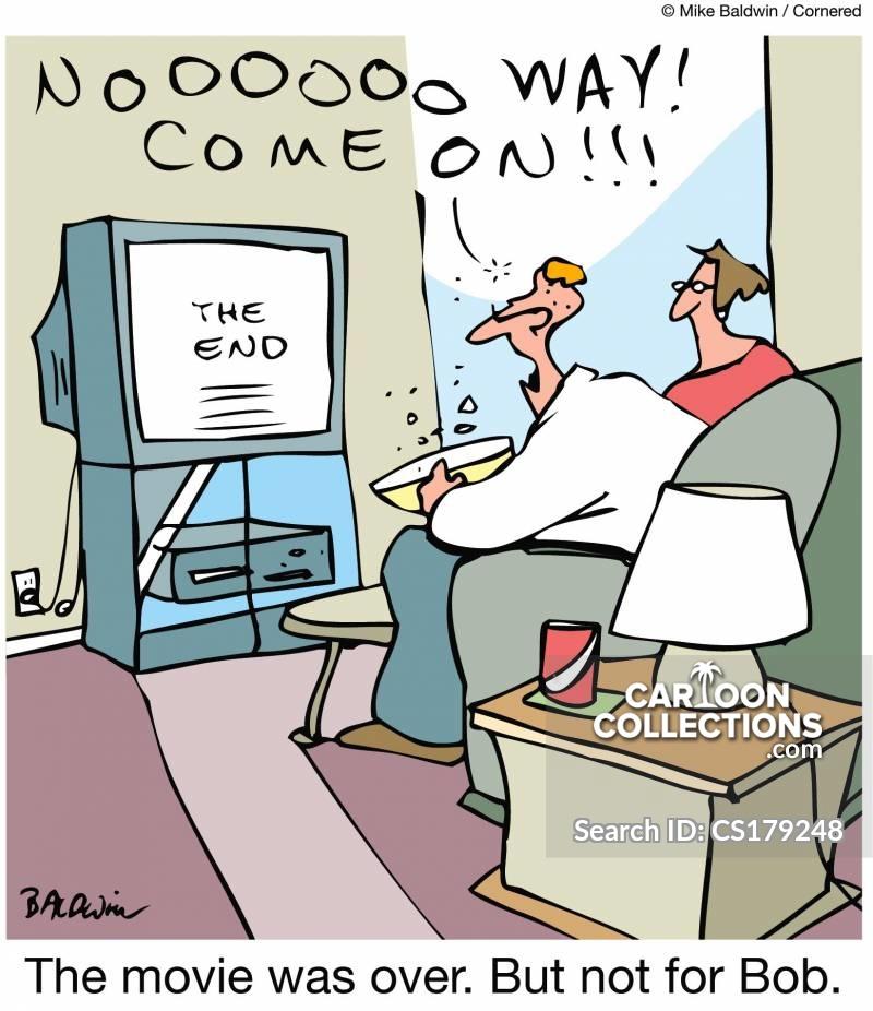 ruined endings cartoon