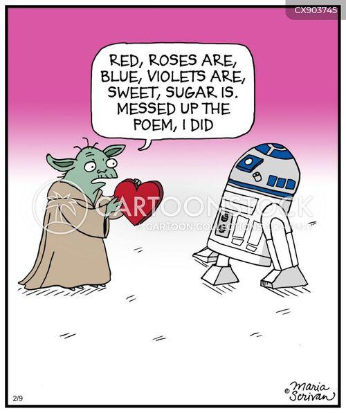 valentines card cartoon