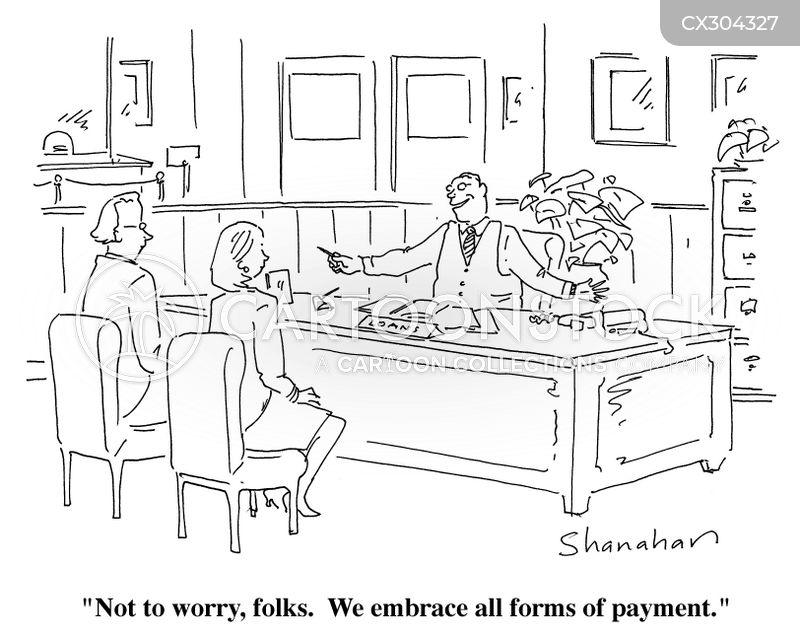payments cartoon
