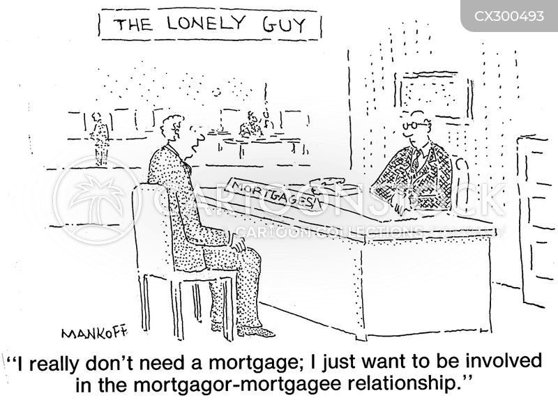 loan companies cartoon