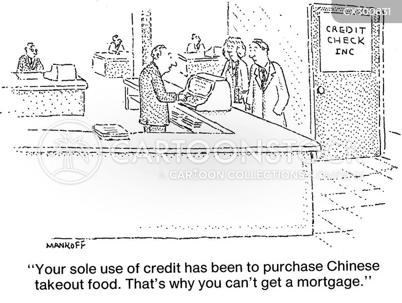 borrower cartoon