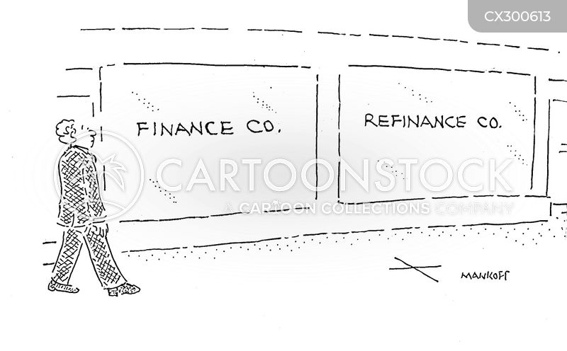 loan program cartoon