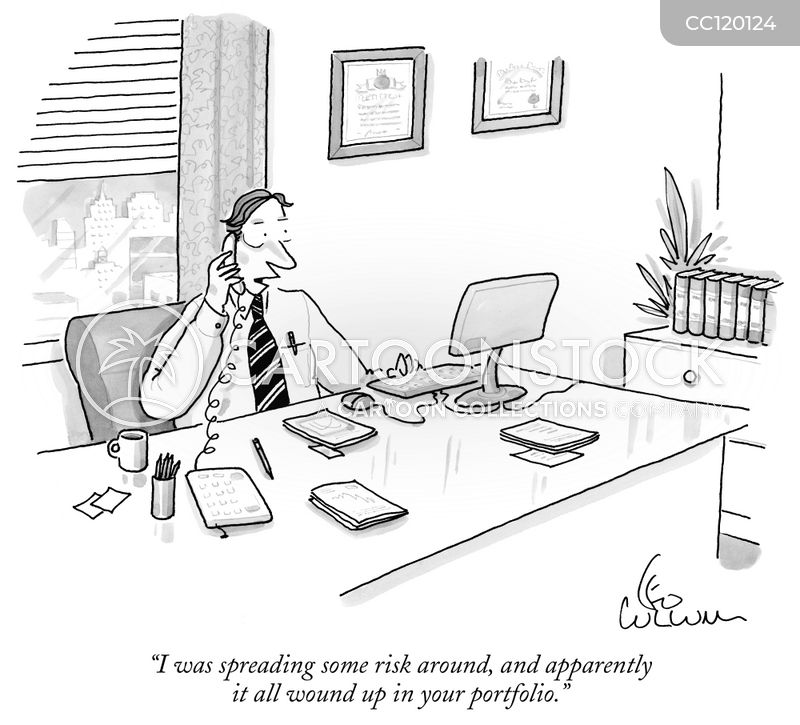 Risky Investment cartoon