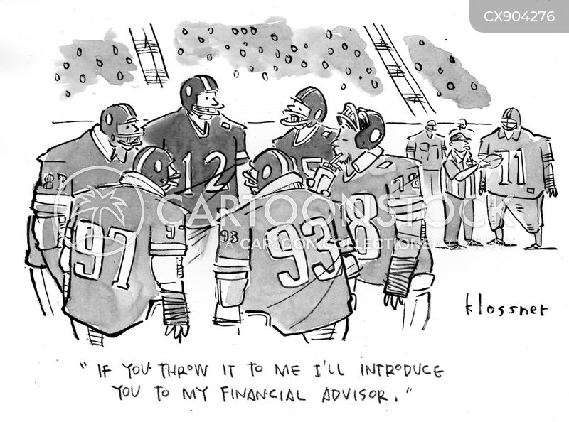 financial advisers cartoon