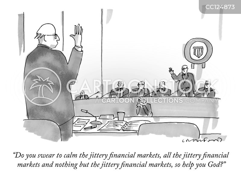 stockbroker cartoon