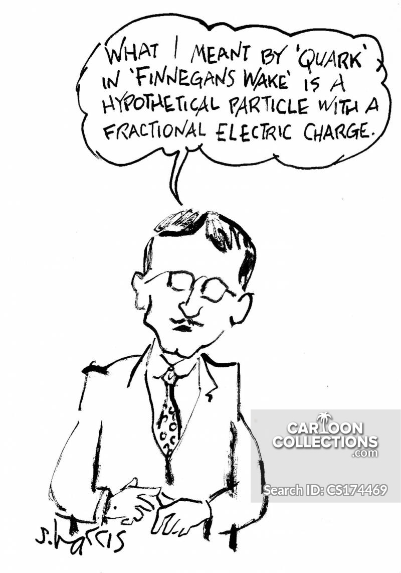 joyce james joyce cartoon