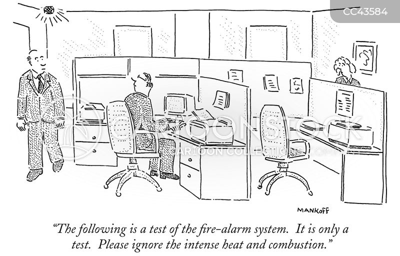 Fires cartoon