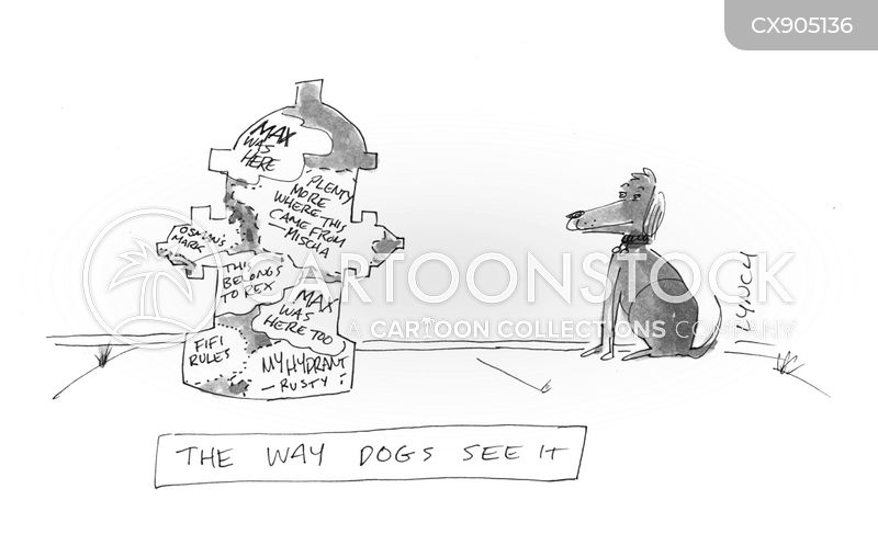 dog greetings cartoon