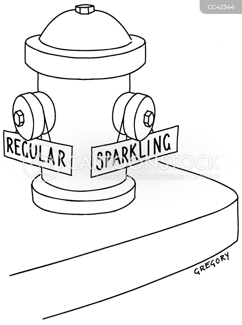 sparkling cartoon