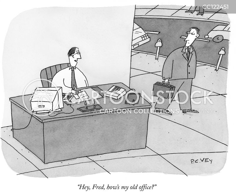 laid-off cartoon