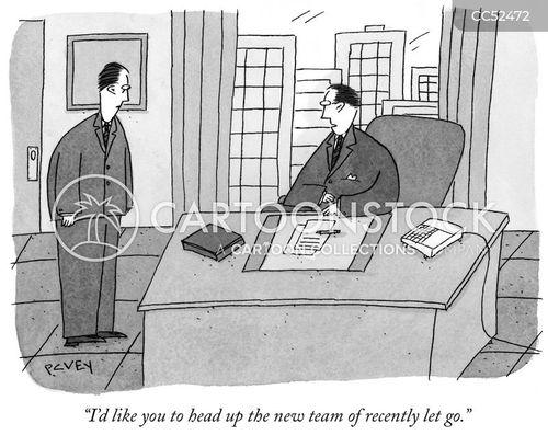 lost job cartoon