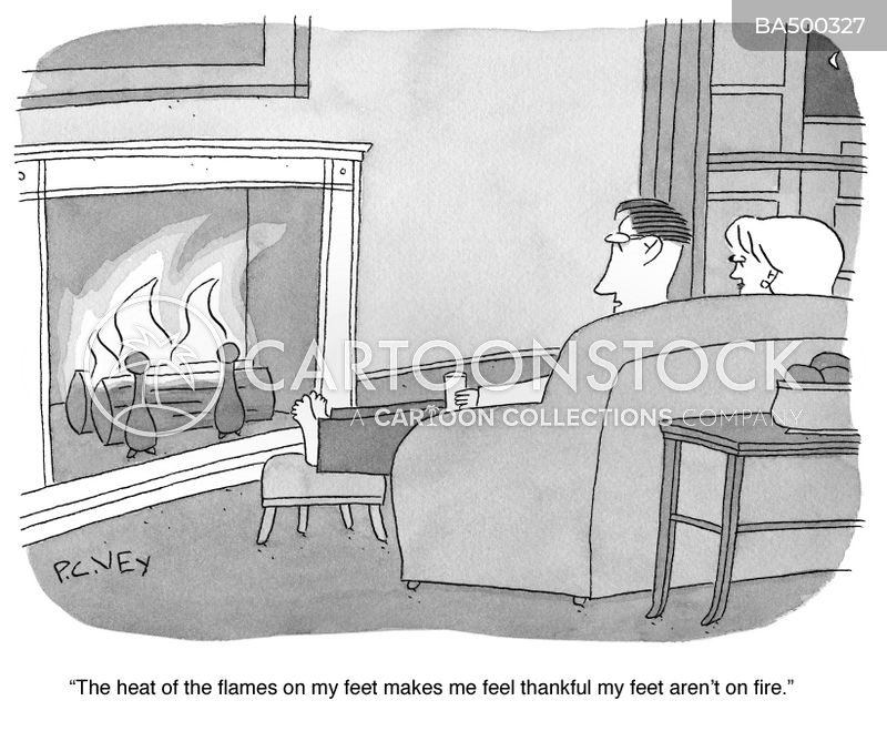 flame cartoon