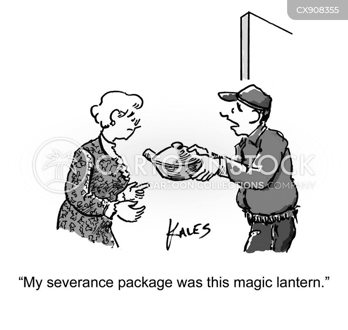 severance cartoon