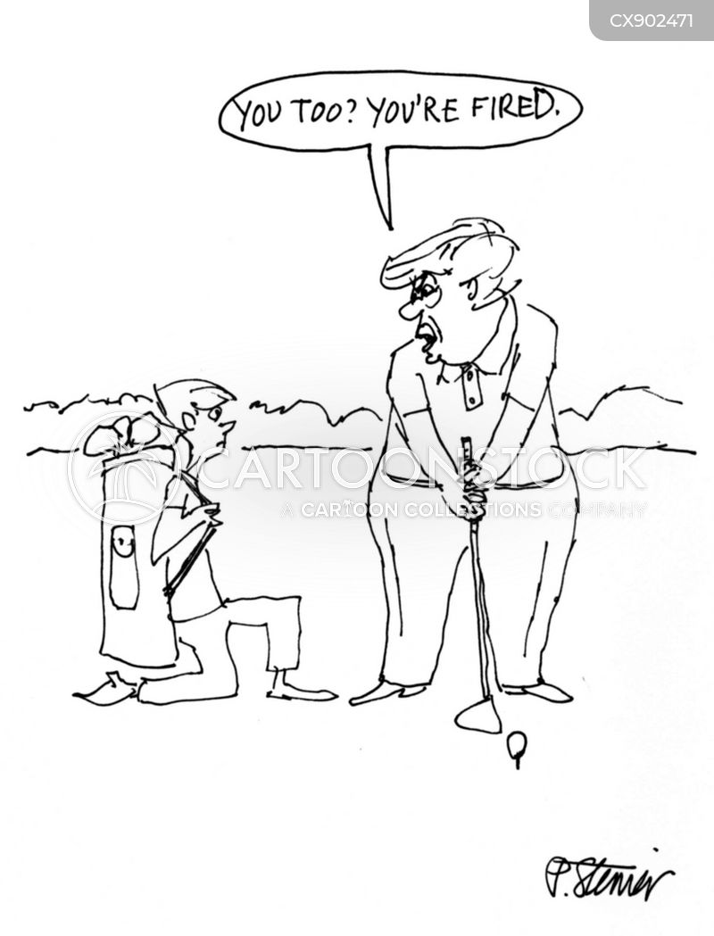 caddies cartoon
