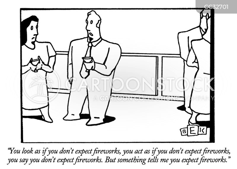 socializing cartoon