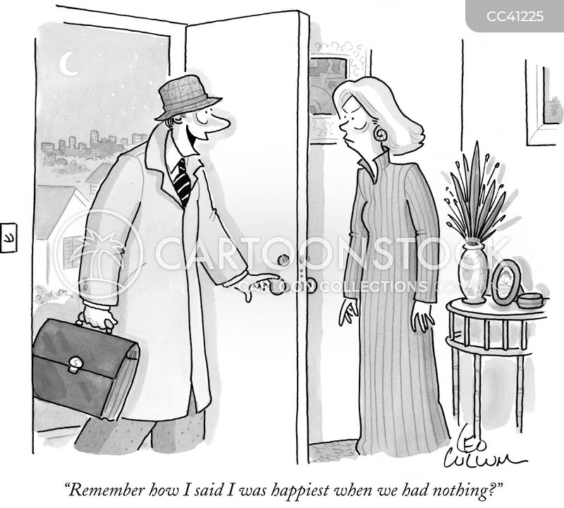Optimist cartoon