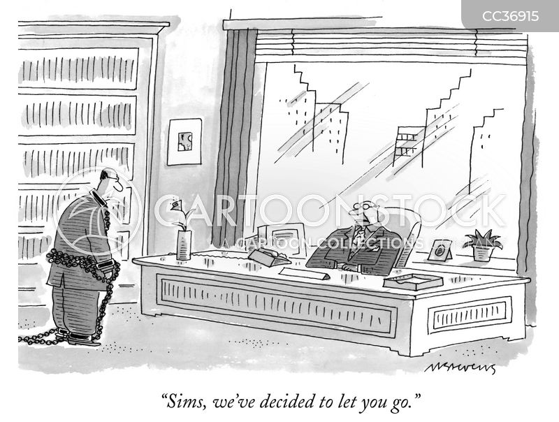 redundancies cartoon